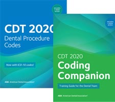 CDT 2020 Dental Coding Kit Book Cover