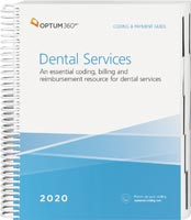 Coding and Payment Guide for Dental Services 2020 Book Cover